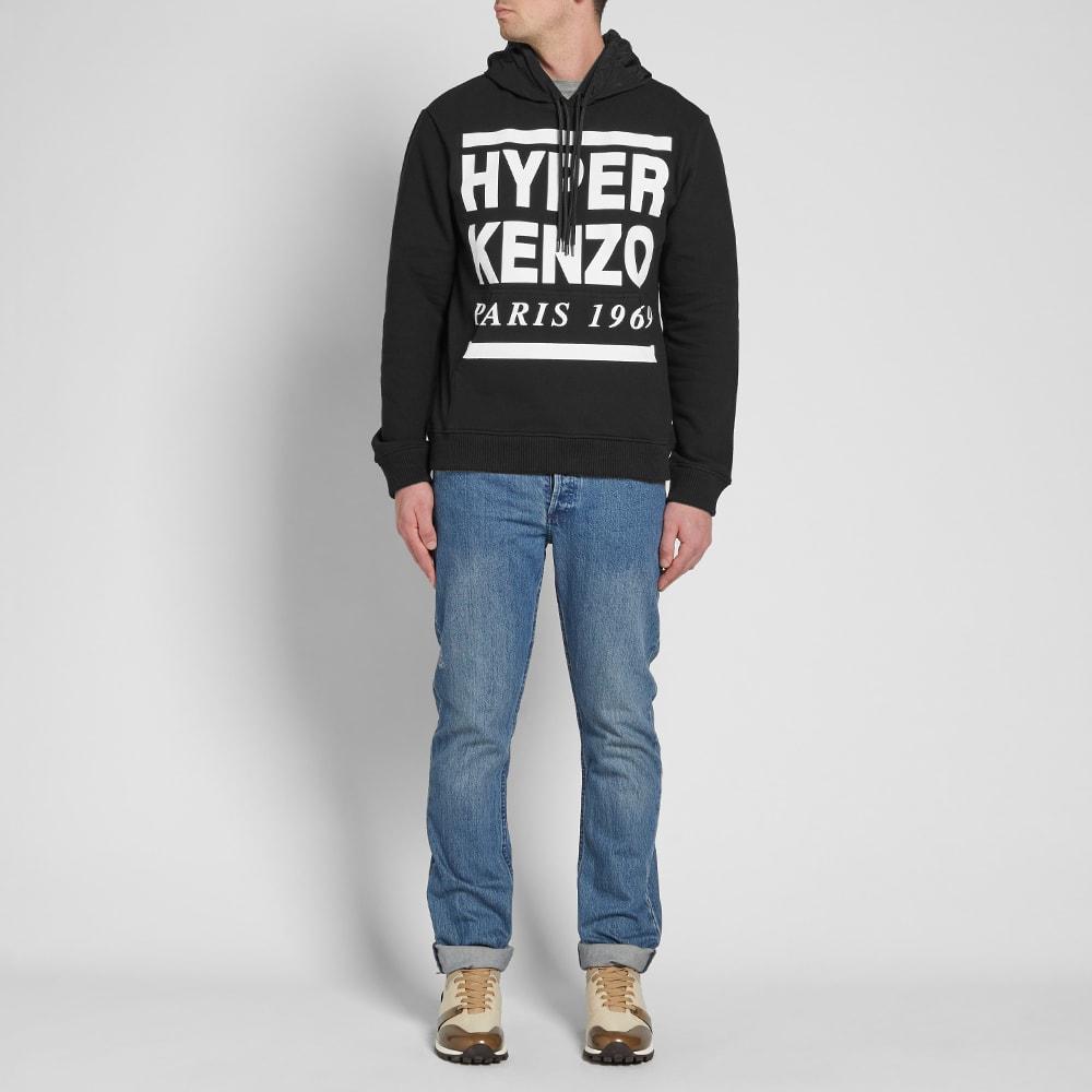 282edaf26 Kenzo Hyper Paris Hoody Black & White | END.