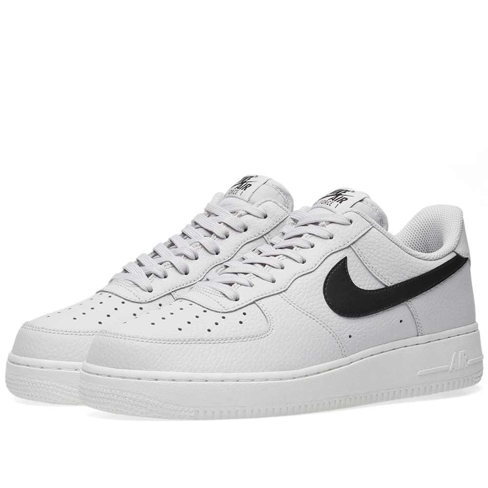 646fd07fb Nike Air Force 1 '07 Vast Grey, Black & White | END.