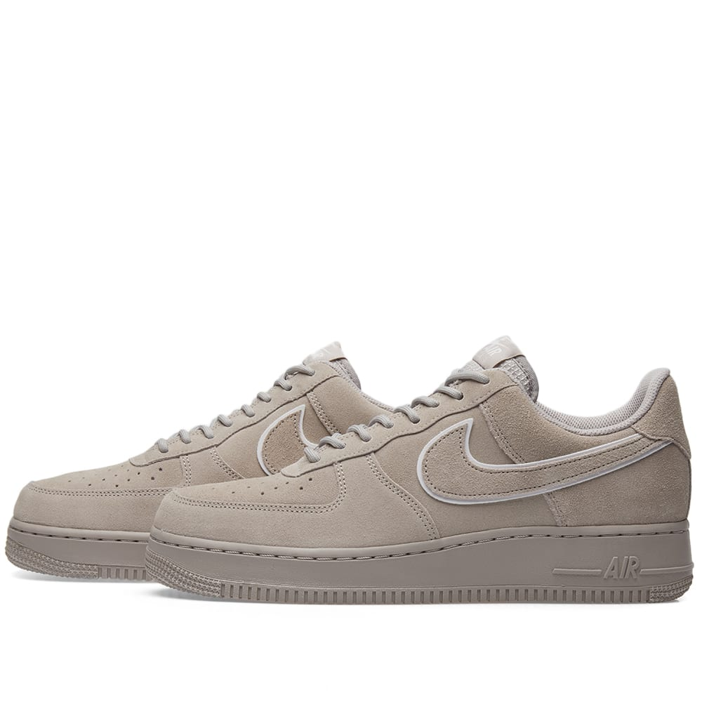 ac717fff19717 Nike Air Force 1 '07 LV8 Suede Moon Particle & Sepia Stone | END.