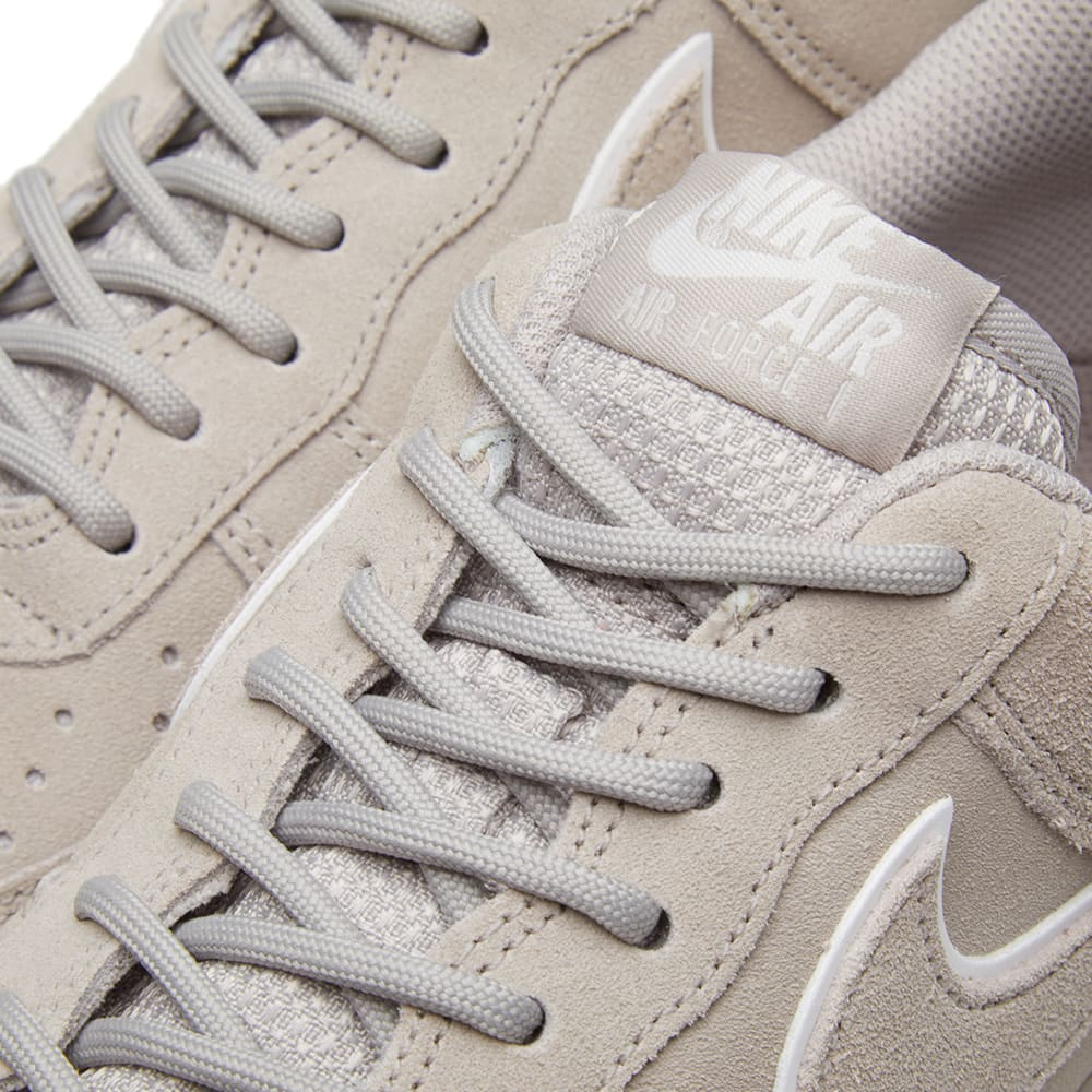 Nike Air Force 1 One Low MOON PARTICLE GREY SUEDE WHITE AF1 AA1117 201 Men's