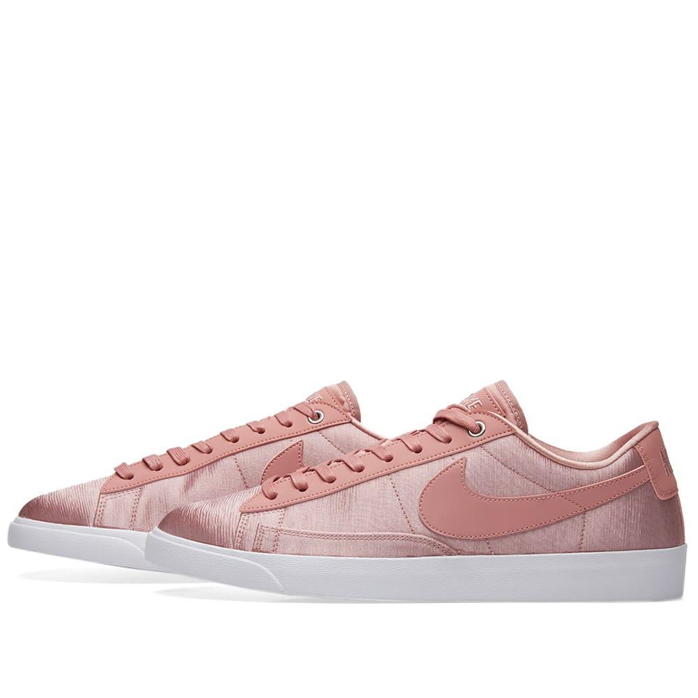 da9349eb Nike Blazer Low SE W Rust Pink & White | END.