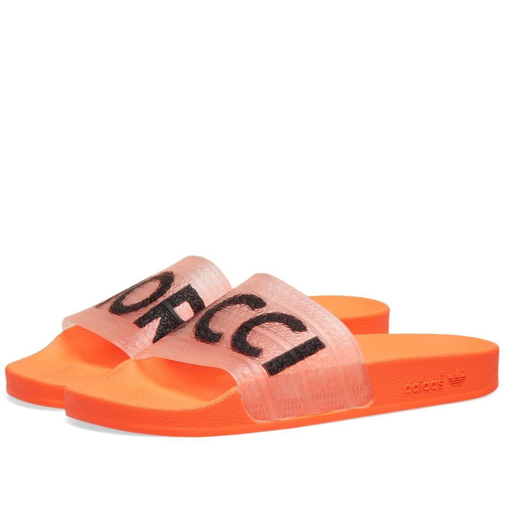 sports shoes f7a0c 55cb8 Adidas x Fiorucci Adilette W