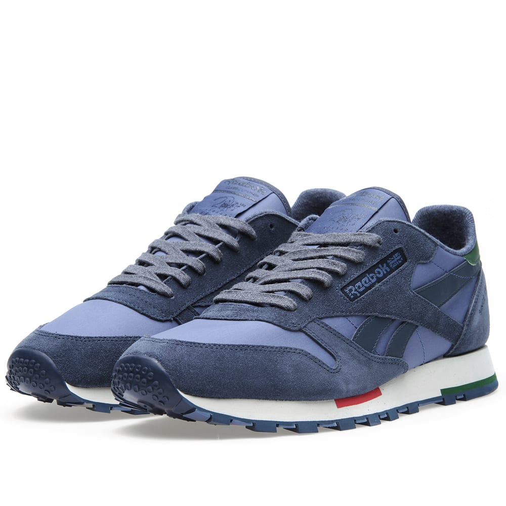 reebok classic leather retro suede athletic navy. Black Bedroom Furniture Sets. Home Design Ideas