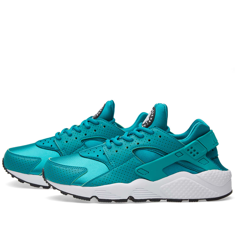 nike w air huarache run rio teal black. Black Bedroom Furniture Sets. Home Design Ideas