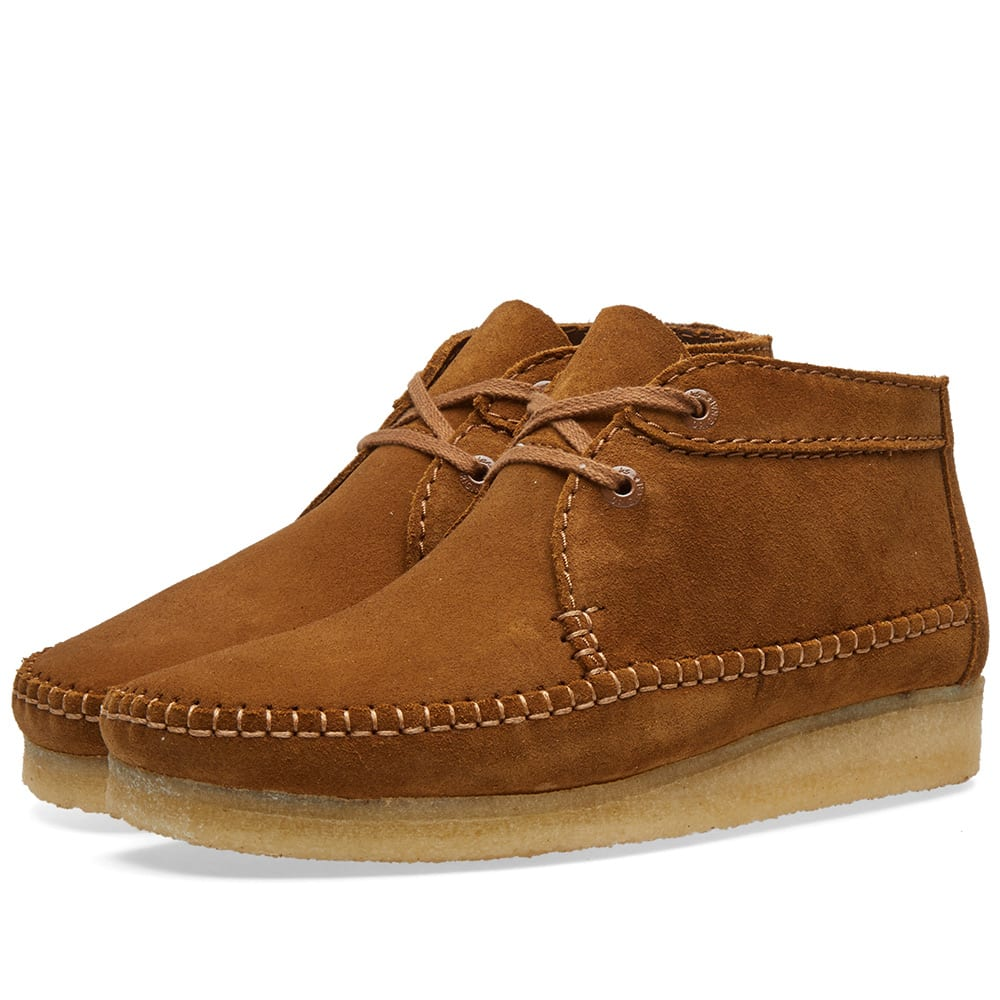 Clarks Originals Weaver Boot Cola Suede