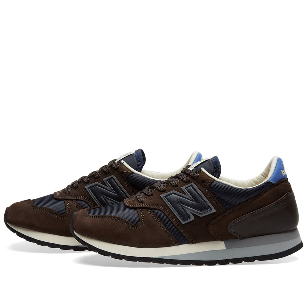 9b9d14a2419 New Balance x Norse Projects M770NP 'Lucem Hafnia' Brown | END.