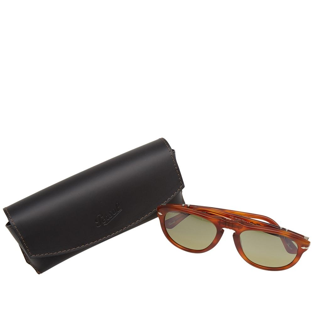 0c9bde80d7f Persol 649 Aviator Sunglasses In Brown