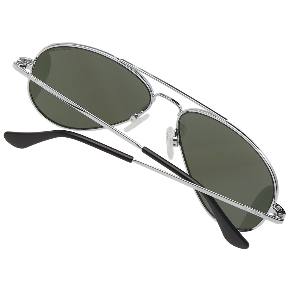 2ae33846d0571 Randolph Engineering Concorde Sunglasses Bright Chrome   AGX