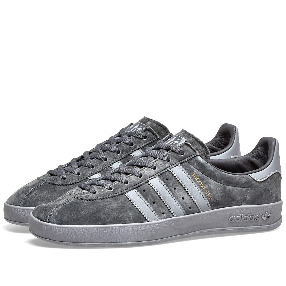 Adidas Broomfield Grey \u0026 Gold | END.