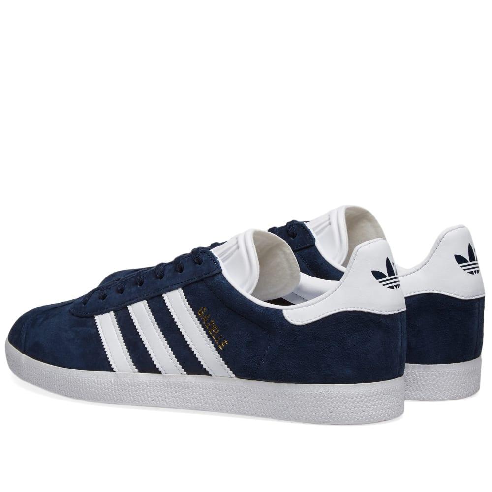 9bc532626ebd04 Adidas Gazelle Collegiate Navy & White | END.