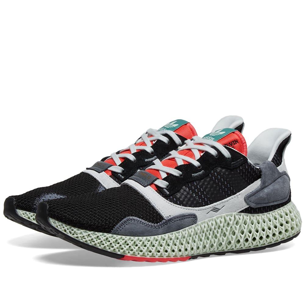 adidas ZX 4000 4D – Black Onix | Sneaker | Adidas zx, Adidas
