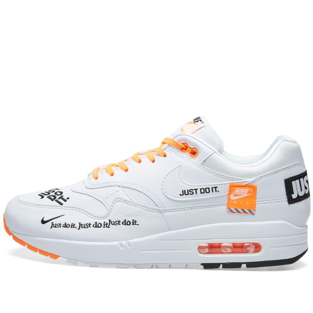 super popular 8e3f3 dd854 Nike Air Max 1 Lux W White, Black   Orange   END.