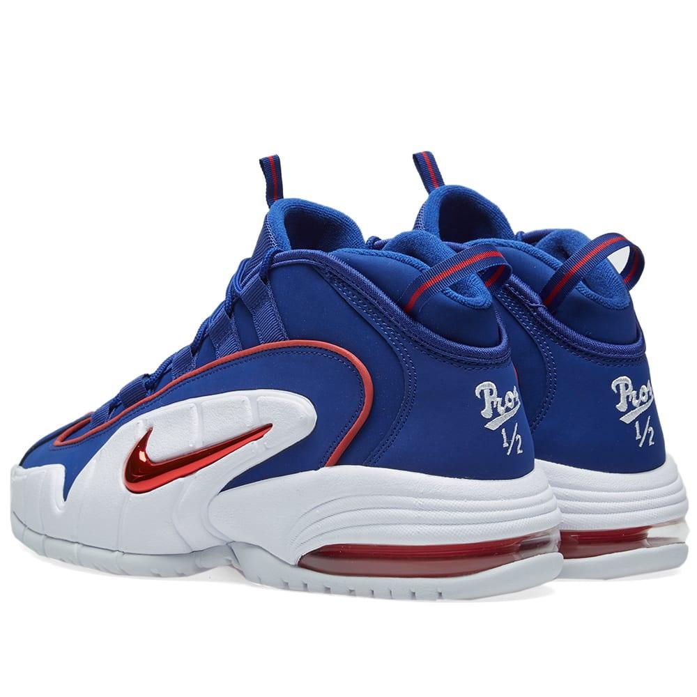 cheaper fb845 eb043 Nike Air Max Penny Deep Royal Blue, Red   White   END.