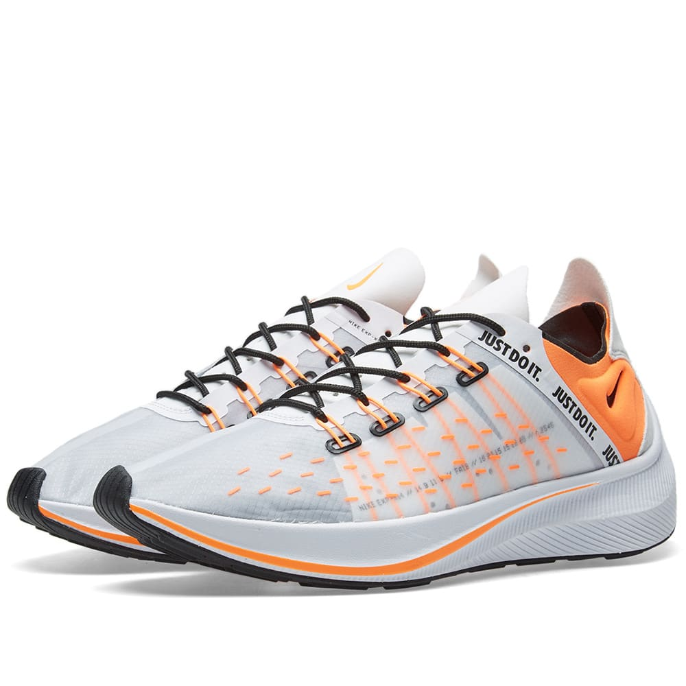 NIKE Men'S Exp-X14 Se Just Do It Casual Sneakers From Finish Line in White