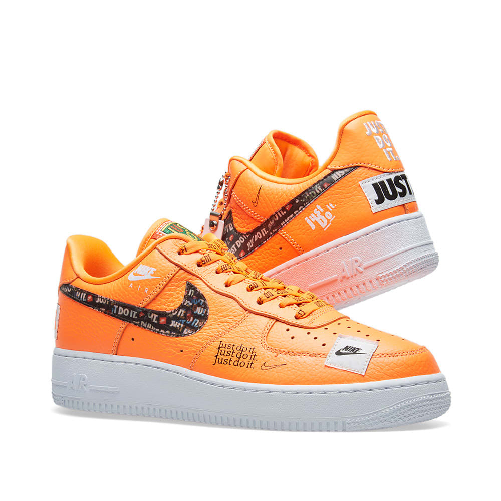 online store 3e0f4 54f11 Nike Air Force 1  07 Premium JDI. Orange ...