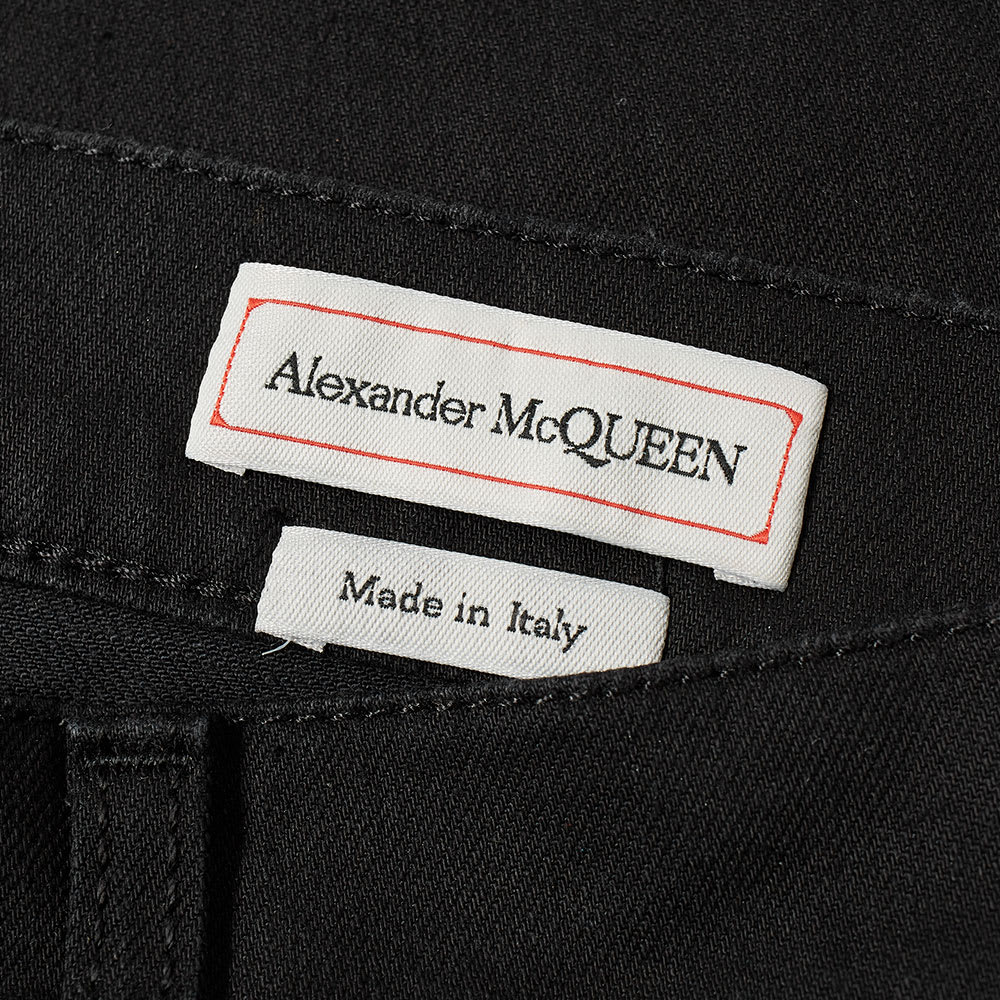 new products 4fc1d 727db Alexander McQueen Embroidered Pocket Skinny Jean