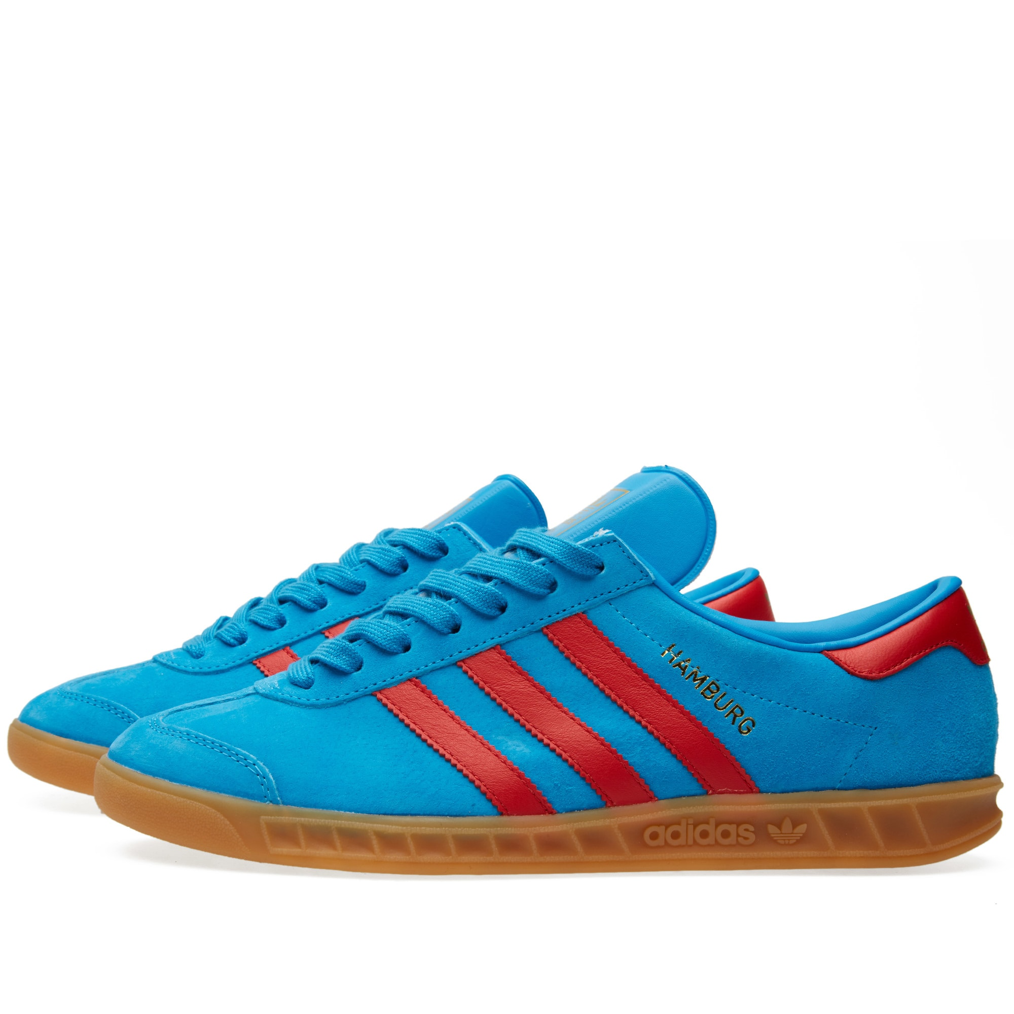 repetir alojamiento financiero  adidas hamburg blue and red