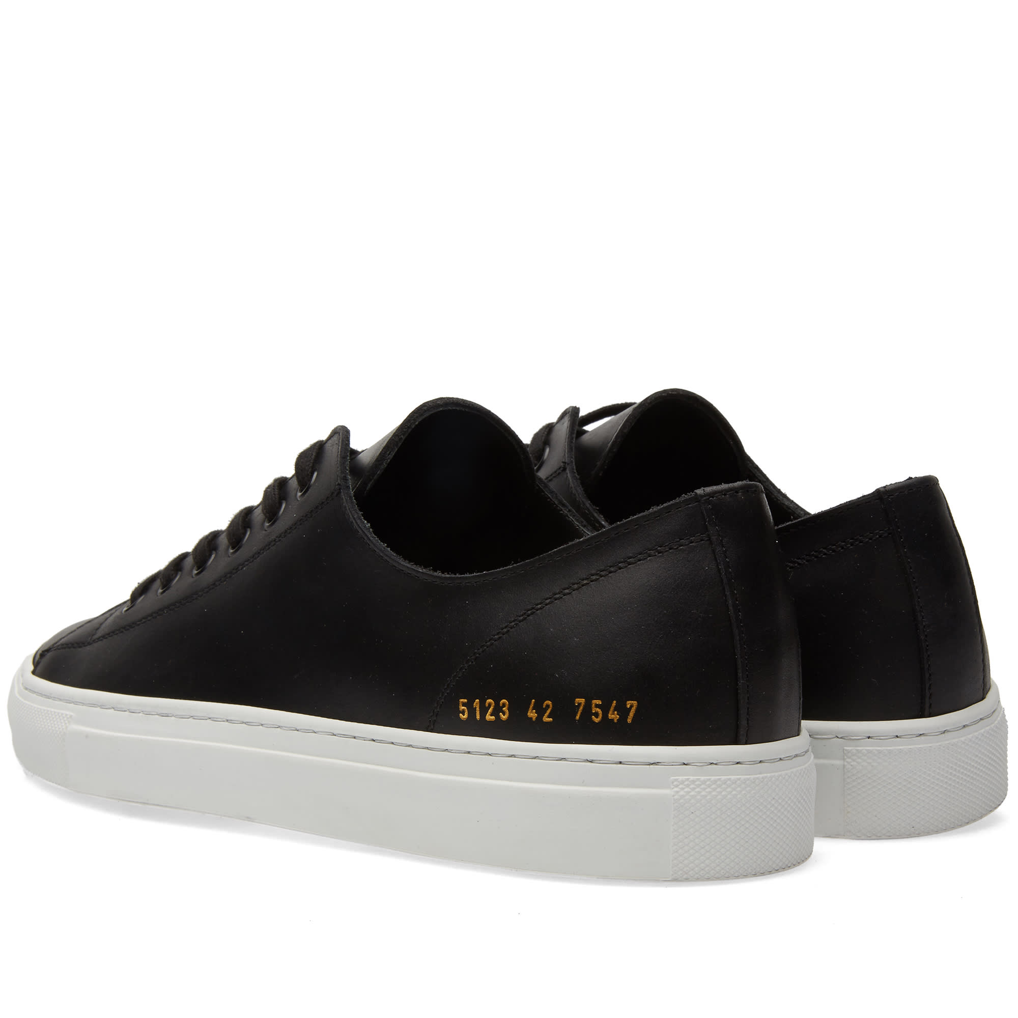 common projects tournament low leather black. Black Bedroom Furniture Sets. Home Design Ideas