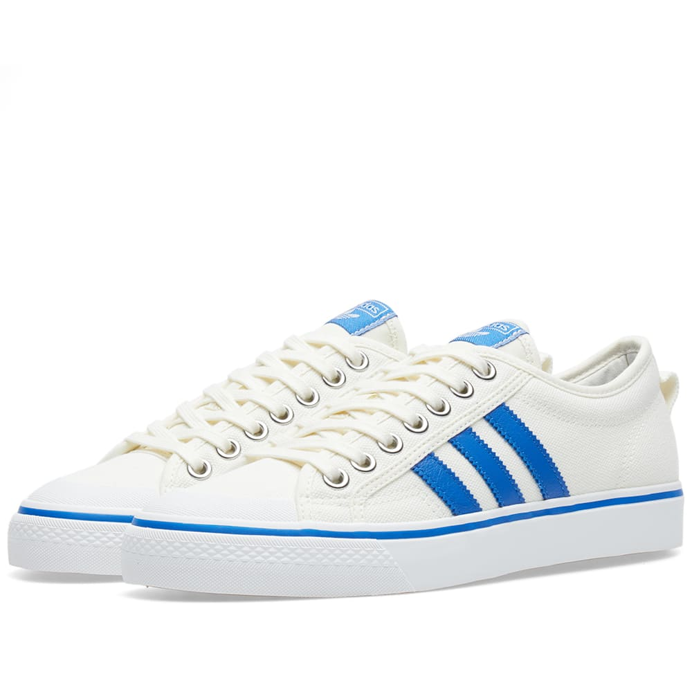 adidas nizza low zwart