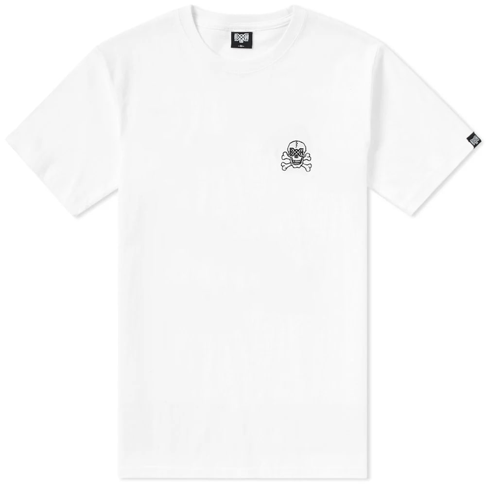 BOUNTY HUNTER SKULL LOGO EMBROIDERED TEE
