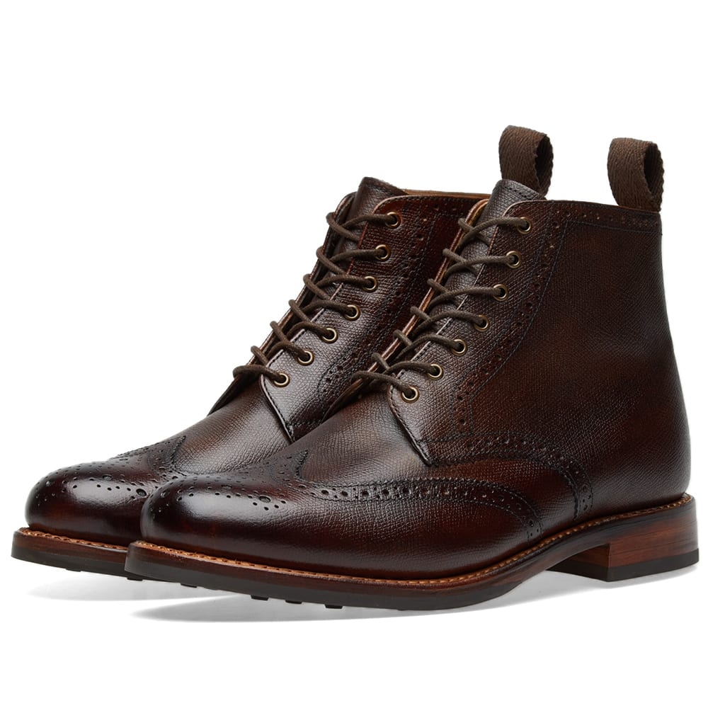GRENSON SHARP BROGUE BOOT