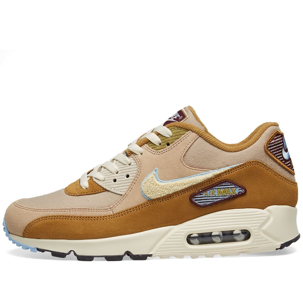 timeless design 51882 e080b Nike Air Max 90 Premium SE Bronze, Cream   Royal Tint   END.