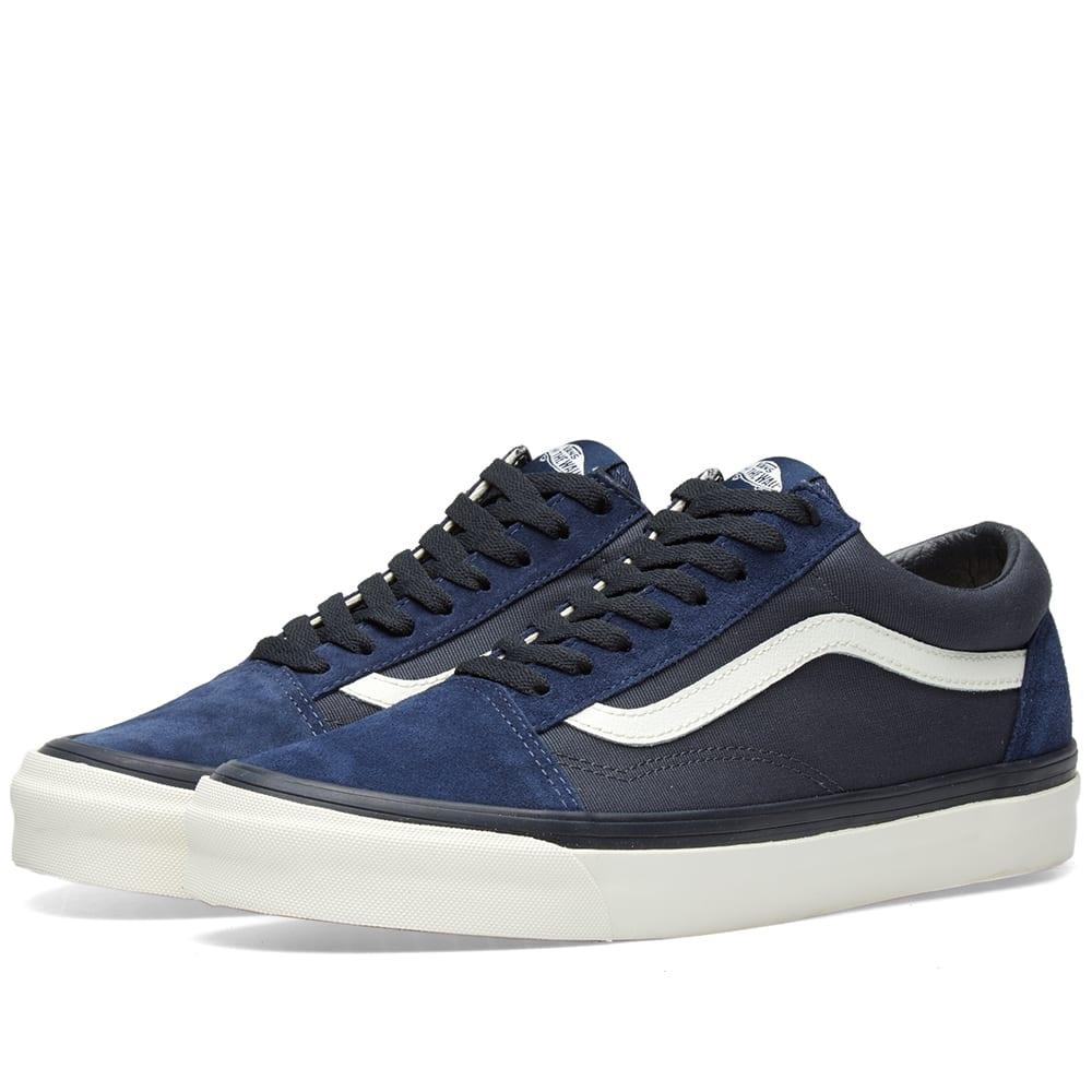 0ec922842f22fd Vans Vault x WTAPS OG Old Skool LX Dress Blue