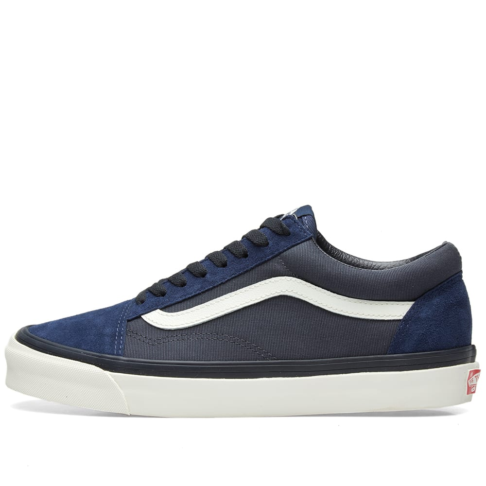 4edc7d6b0e Vans Vault x WTAPS OG Old Skool LX Dress Blue