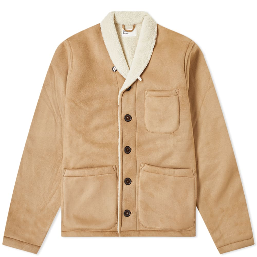 Universal Works Prairie Faux Leather Jacket by Universal Works