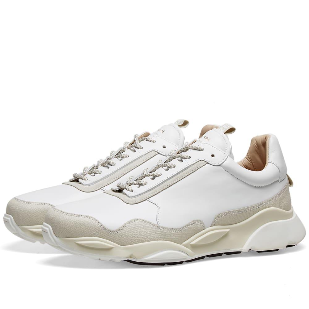 Zespa ZSP7 Monochrome Sneaker White | END.