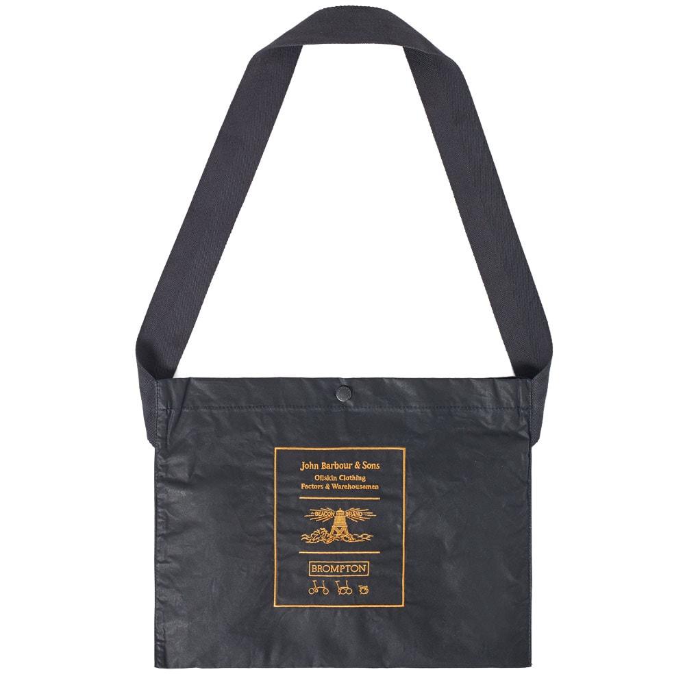 Barbour x Brompton Bag