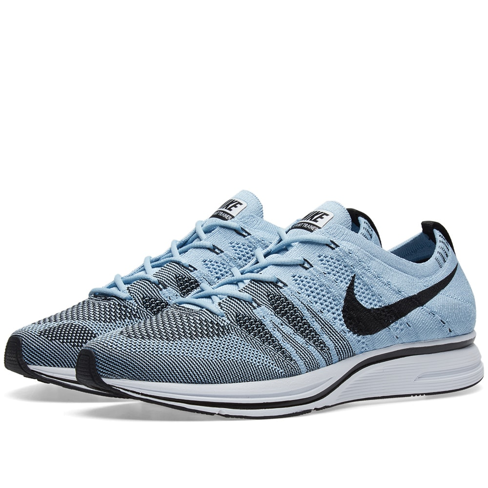 super popular 69b67 69f6c Nike Flyknit Trainer Cirrus Blue   Black   END.