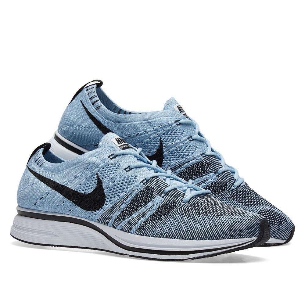 d4824b2693a7 Nike Flyknit Trainer Cirrus Blue   Black