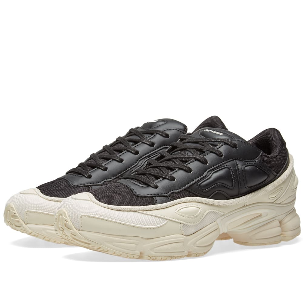 cheap for discount 317af 472cc Adidas x Raf Simons Ozweego White   Black   END.