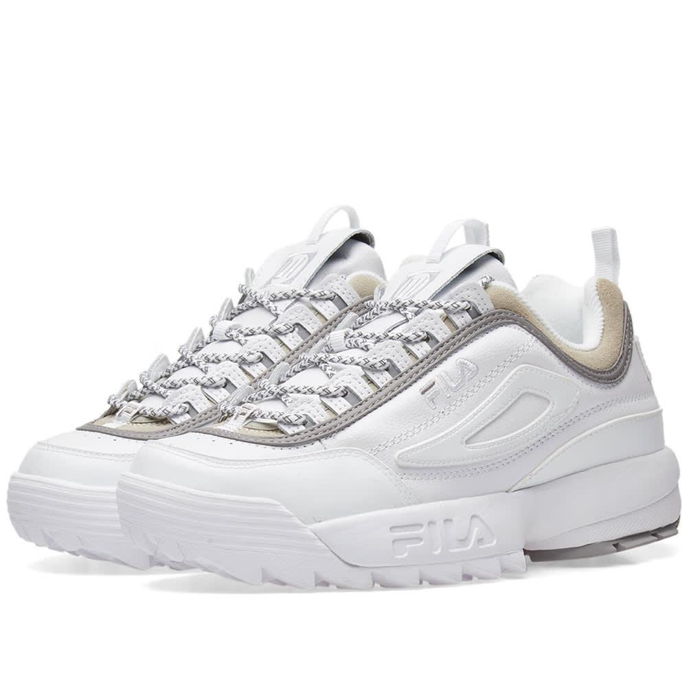 74ccf46b8b43c Liam Hodges x Fila Disruptor II Sneaker White