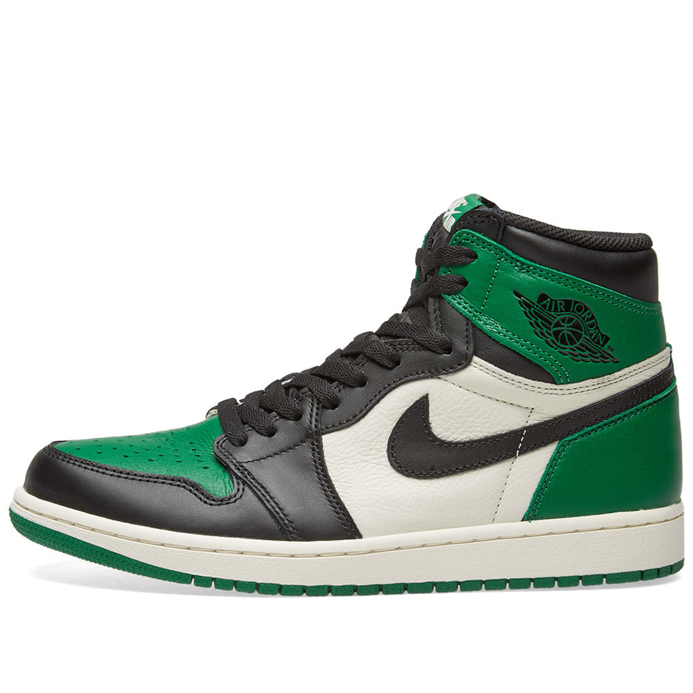 new styles e4e07 45945 Nike Air Jordan 1 Retro High OG Pine Green   White   END.