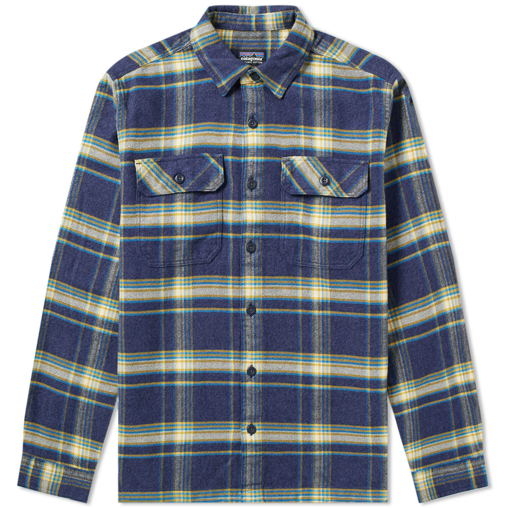 Patagonia Cottons PATAGONIA FJORD FLANNEL SHIRT