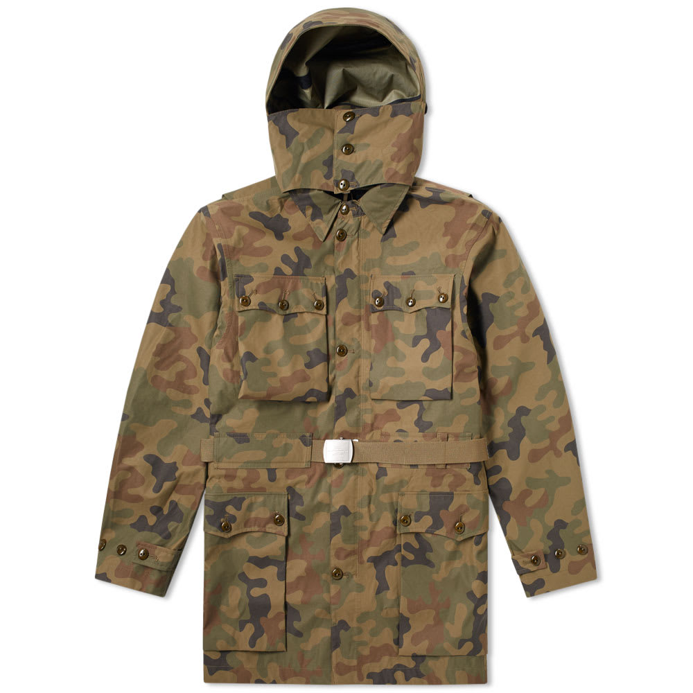 NIGEL CABOURN X PEAK PERFORMANCE SWEDISH MOUNTAIN PARKA