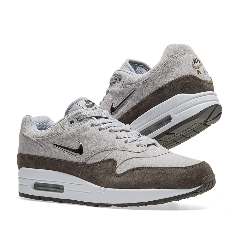 d0cc4a09fc95 Nike Air Max 1 Premium SC Wolf Grey & Metallic Pewter | END.