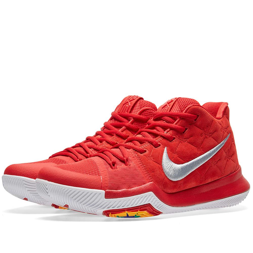 6c734fdca104b0 Nike Kyrie 3 University Red   Wolf Grey