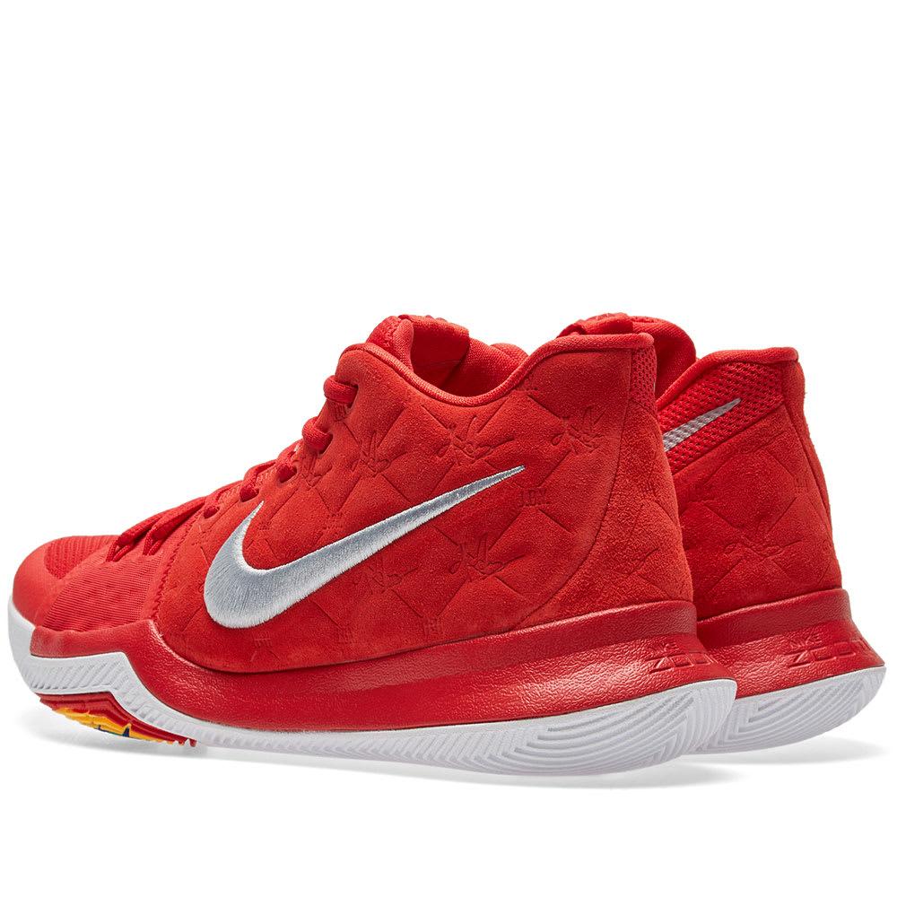 218bd62cc5fe Nike Kyrie 3 University Red   Wolf Grey