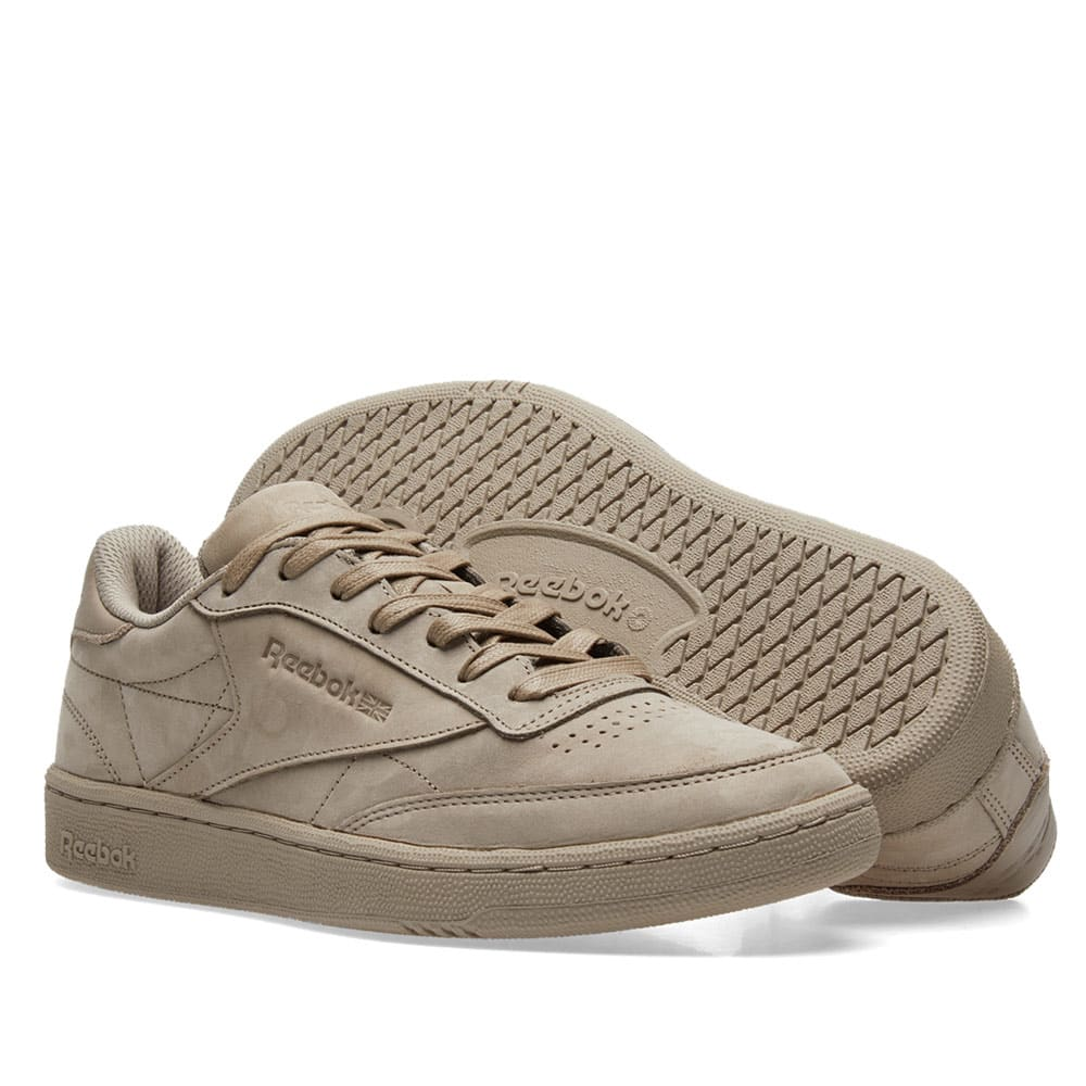206c5d5e861 Reebok Club C 85 RS Beach Stone   Gold