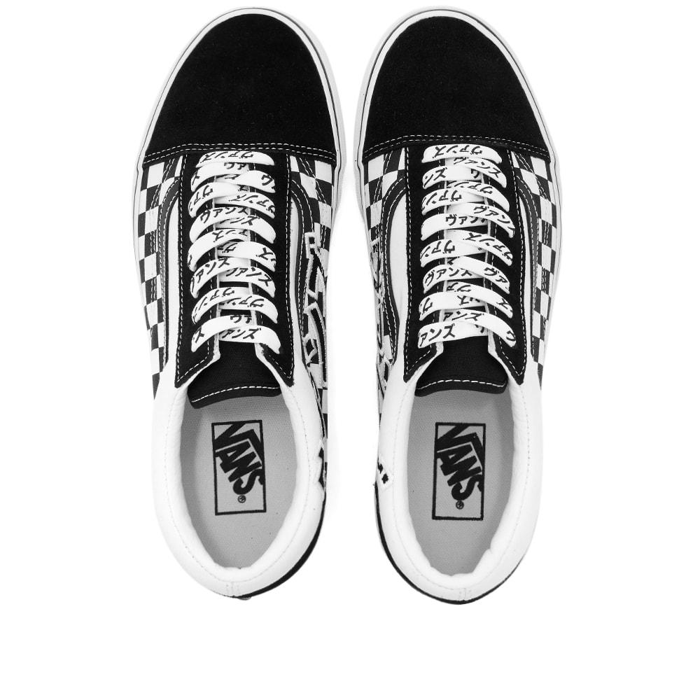 Vans UA Old Skool Black \u0026 True White | END.