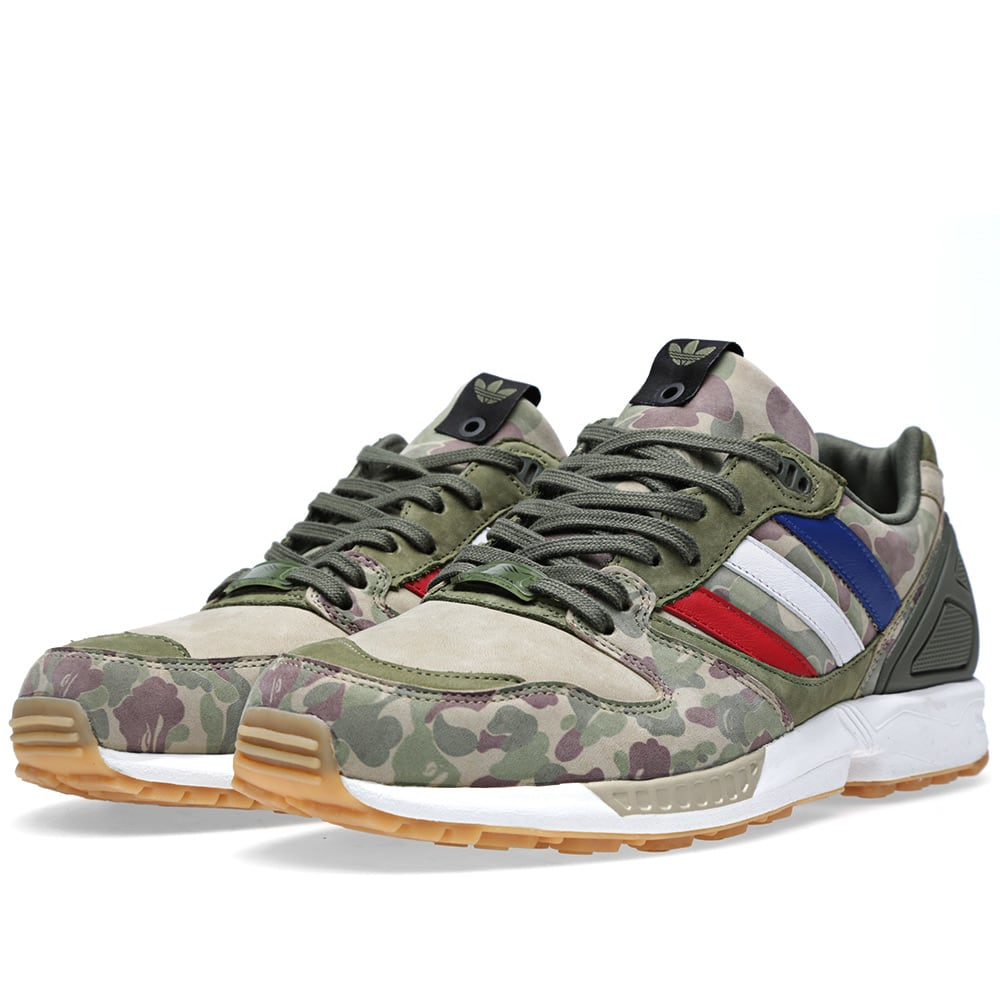 low priced 9e95b 2ee54 Adidas Consortium x BAPE x Undefeated ZX 5000