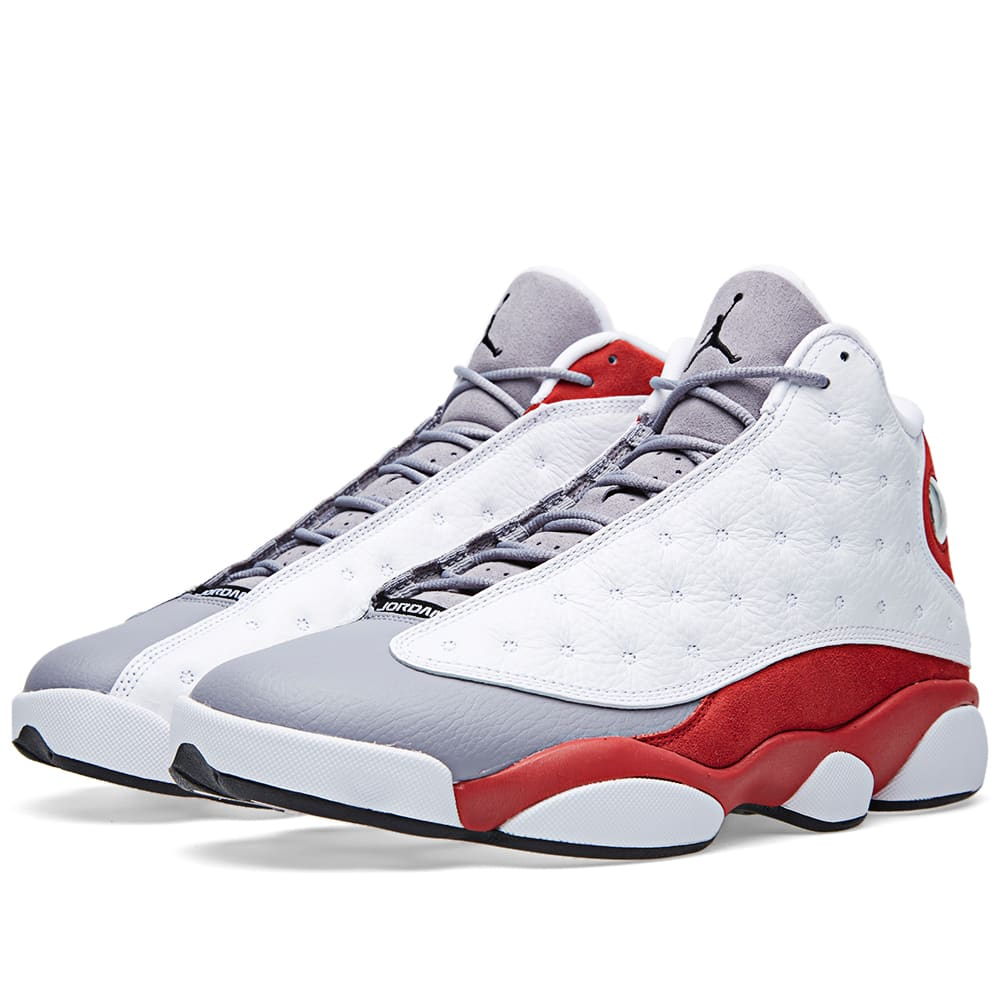 51d2042c11a3 Nike Air Jordan XIII Retro  Grey Toe  White