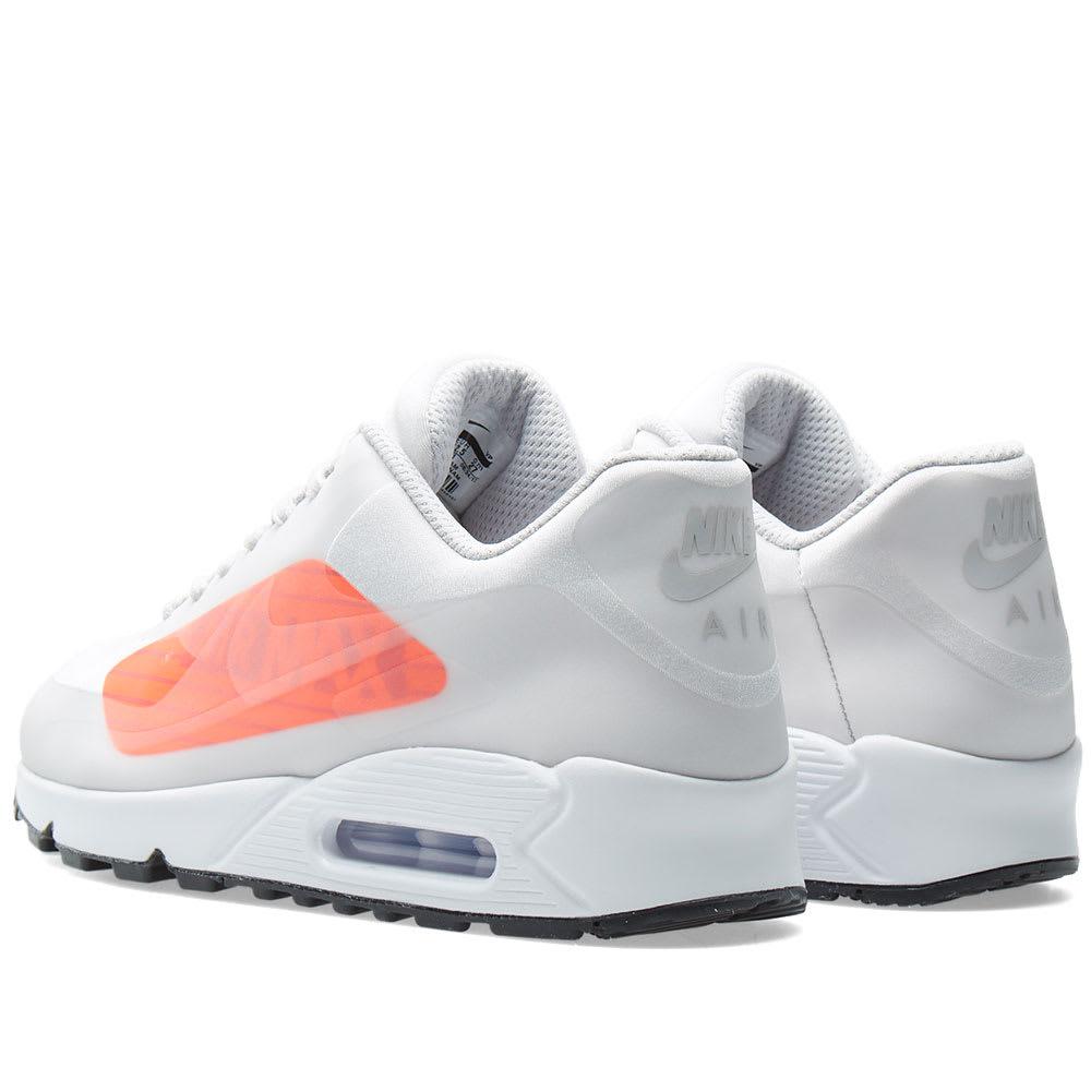 0b719ef1bc Nike Air Max 90 NS GPX. Neutral Grey & Bright Crimson