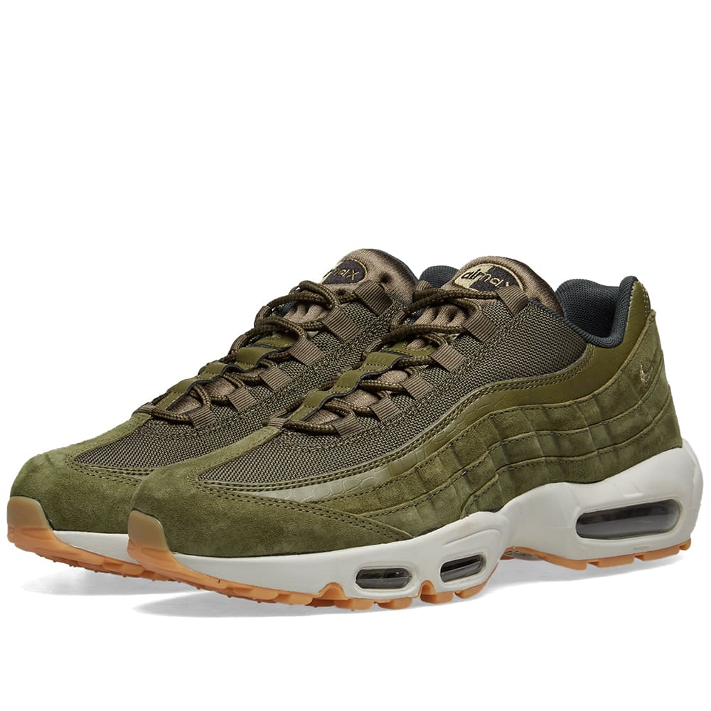 Nike Shoes | Air Max 95 Stussy Olive Sz 105 | Poshmark
