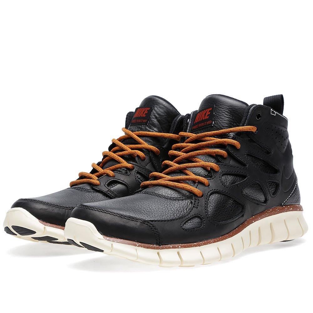 f3014713fcde5 Nike Free Run 2 Sneakerboot QS Black
