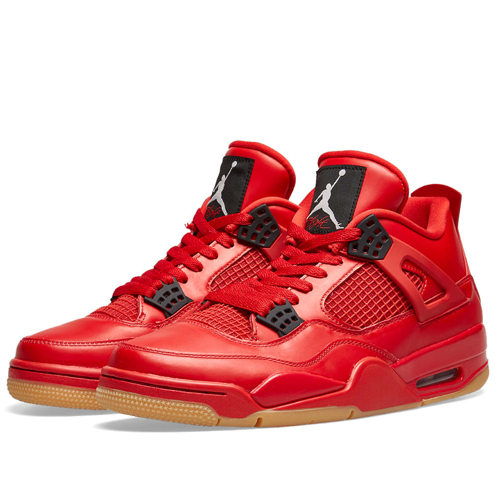 Nike Women S Air Jordan Retro 4 Nrg Basketball Shoes Red Modesens