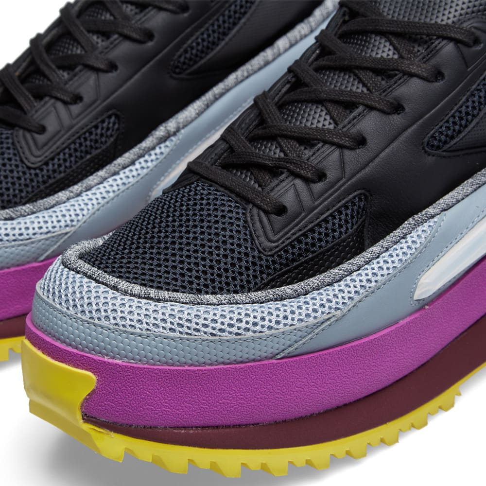 Adidas x Raf Simons Platform Lace (Core Black & Light Grey)